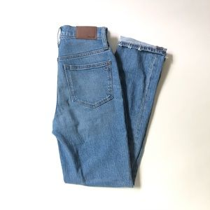 MADEWELL Classic Straight Full-Length Jeans